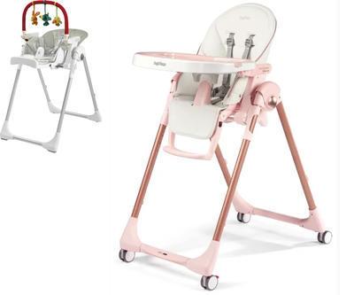 Jídelní židlička PEG PÉREGO Prima Pappa Follow Me 2021 + DÁREK, mon amour