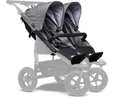 Sportovní sedačka TFK Stroller Seats Duo 2021, premium grey - 1