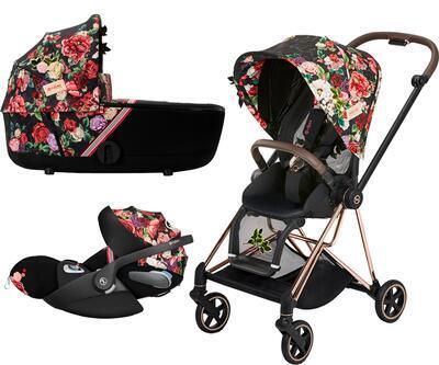 Kočárek CYBEX Set Mios Seat Pack Fashion Spring Blossom 2021 včetně autosedačky - 1