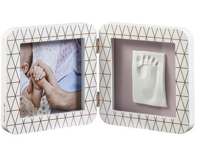 Rámeček BABY ART My Baby Touch Simple 2021, copper edition white - 1