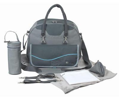 Přebalovací taška BO JUNGLE B-City 2021, grey - 1