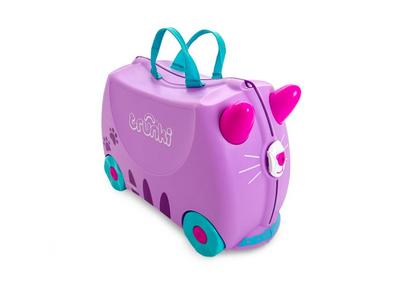 Kufřík + odrážedlo  TRUNKI 2020, kočička Cassie - 1