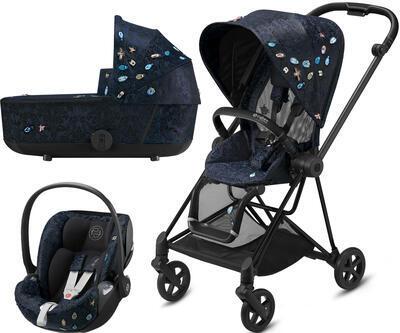 Kočárek CYBEX Set Mios Seat Pack Fashion Jewels of Nature 2021 včetně autosedačky - 1