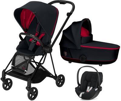 Kočárek CYBEX Set Mios Seat Pack Ferrari Fashion 2021 včetně autosedačky - 1