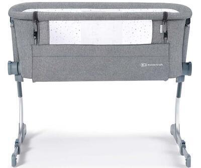 Dětská postýlka KINDERKRAFT Uno UP 2021, grey - 1