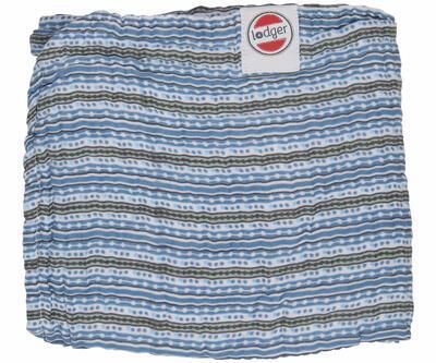 Deka LODGER Dreamer Muslim Stripe Xandu 120x120 cm 2020, ocean - 1