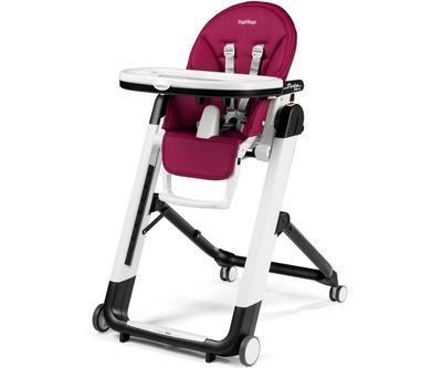 Jídelní židlička PEG PÉREGO Siesta Follow Me 2021 + DÁREK, berry - 1
