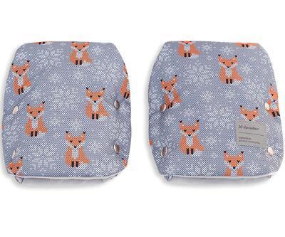 Rukavice X-LANDER X-Muff Art 2021, winter foxes - 1
