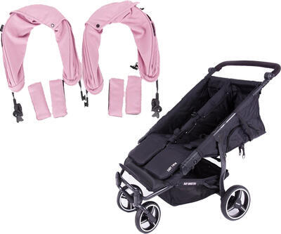 Kočárek BABY MONSTERS Easy Twin Black Colour Pack 2020 - 1