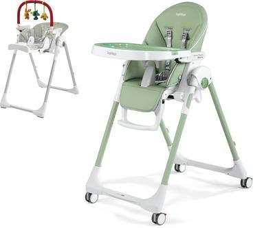 Jídelní židlička PEG PÉREGO Prima Pappa Follow Me 2021 + DÁREK, mint