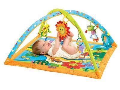 Hrací deka s hrazdou TINY LOVE Slunečný den 2014 - 1