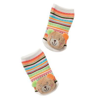 Oskar FEHN Chrastící ponožky s medvídkem