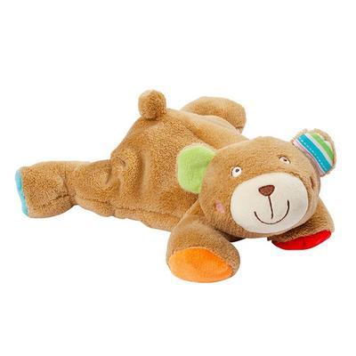 Oskar FEHN Ležící medvídek plněný kuličkami 2016