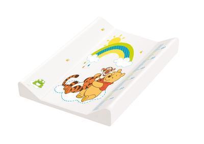 PRIMA BABY Podložka s pevnou deskou Winnie Pooh bílá