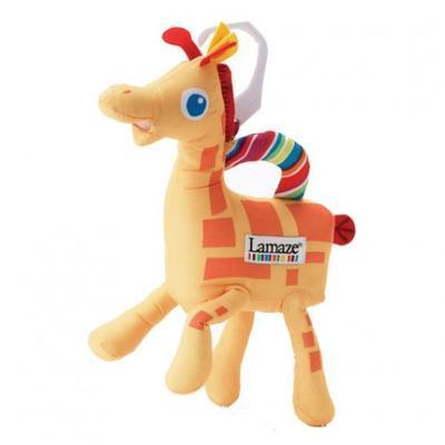 LAMAZE veselá lampička žirafa