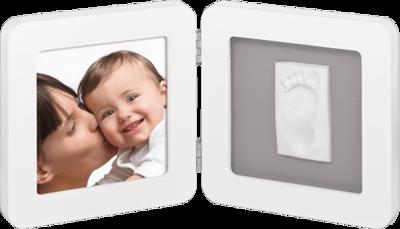 BABY ART Rámeček Print Frame White & Grey 2017