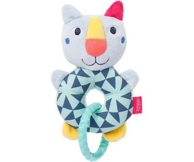 Color Friends BABY FEHN Plyšový kroužek kočička 2021 - 1
