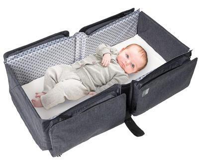 Přenosná a přebalovací taška DOOMOO Basics Baby Travel 2020 - 1