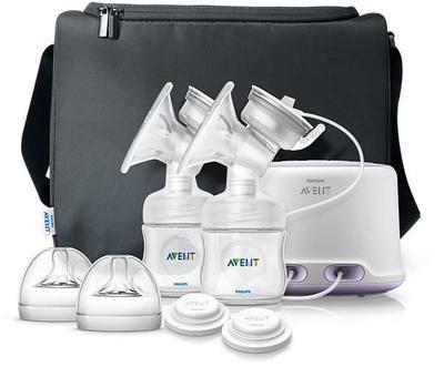 Odsávačka mateřského mléka AVENT Natural elektronická DUO 2020 - 1