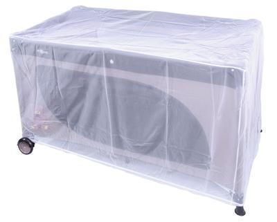 Síť proti hmyzu EMITEX 2020 na postýlku  60x120, bílá - 1
