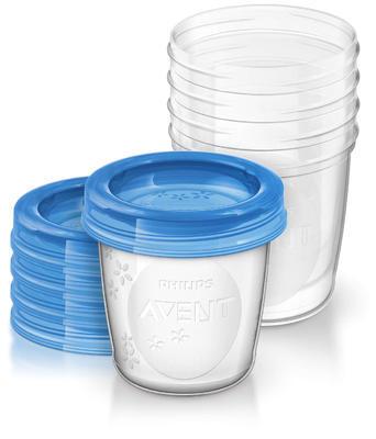 VIA pohárky AVENT s víčkem (180ml) 2020 - 1