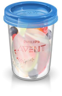 VIA pohárky AVENT s víčkem (240ml) 2020 - 1