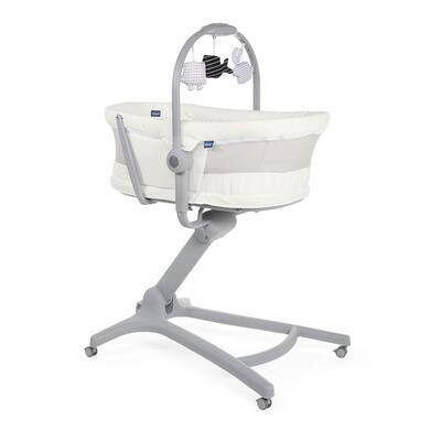 Postýlka/lehátko/židlička CHICCO Baby Hug 4v1 White snow 2020 - 1