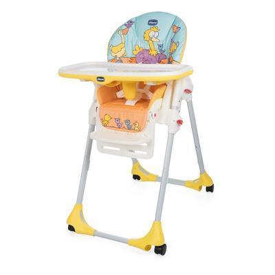 Jídelní židle CHICCO Polly Easy 2019, birdland - 1
