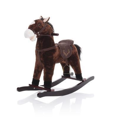 ZOPA Houpací kůň tmavě hnědý Twinkie 2021 - 1