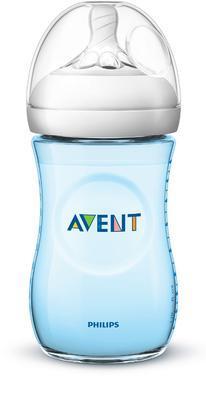 Láhev AVENT Natural 260 ml nová 2020, modrá - 1