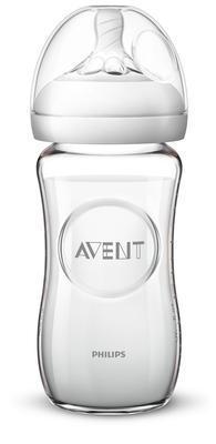 Láhev AVENT Natural skleněná 240 ml nová 2020 - 1