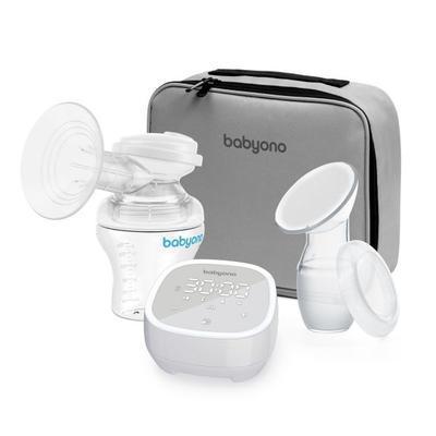 BABYONO Odsávačka mateřského mléka elektronická -5 režimů 2020 - 1