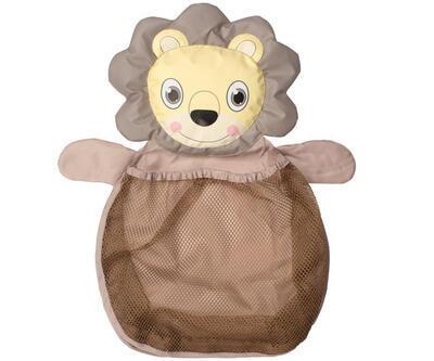 Síť na hračky do vany BO JUNGLE 2021, lion - 1