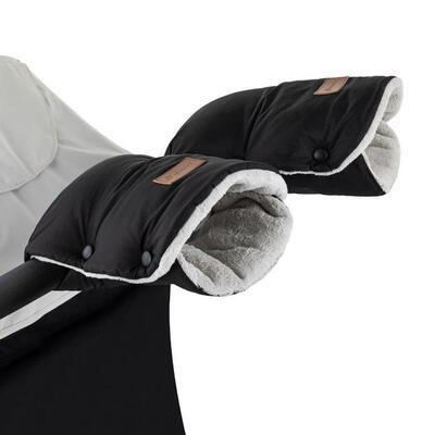 PETITE&MARS rukavice Jasie na kočárek 2021, black - 1