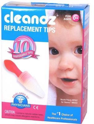 CLEANOZ -náhradní jednorázové nástavce pro nosní odsávačku Clean - 1