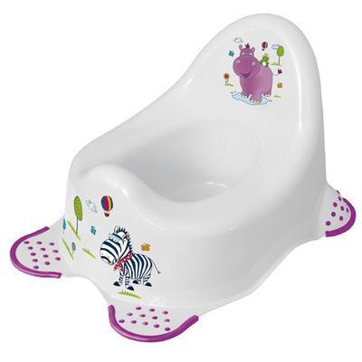 PRIMA BABY Dětský nočník Hippo, bílá