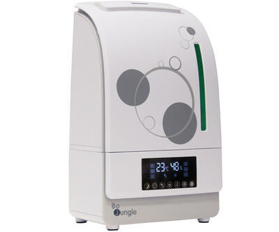 Digitální zvlhčovač a čistička vzduchu BO JUNGLE Humi-Purifier s Aroma a HEPA filtrem 2021, grey