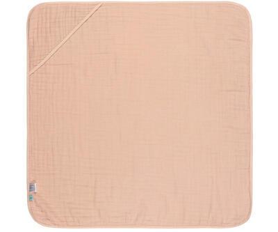 Ručník s kapucí LÄSSIG Muslin Hooded Towel 2021, light pink - 1