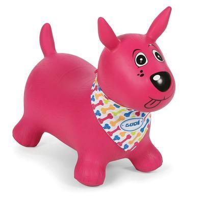 Skákací pes Ludi 2020, růžový - 1