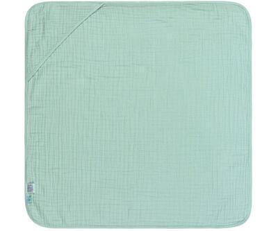 Ručník s kapucí LÄSSIG Muslin Hooded Towel 2021, mint - 1