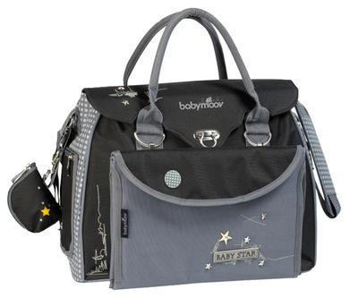 Přebalovací taška BABYMOOV Baby Style 2021, star - 1