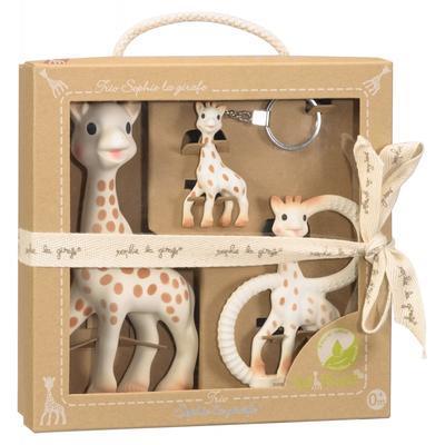 Trio VULLI Žirafa Sophie So'PURE (dárkové balení) 2020 - 1