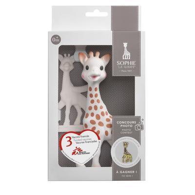 Žirafa Sophie VULLI dárková sada (žirafa + kousátko) 2020 - 1
