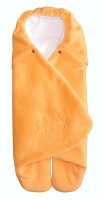 Zavinovačka do autosedačky EMITEX Zoe 2020, oranžová/bílá