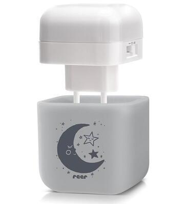 Noční světlo REER SleepLight 2v1 2021, šedé - 2