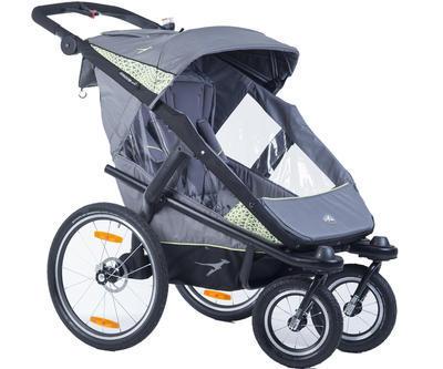 Kočárek TFK Joggster Velo 2020 včetně korby a Joggster Velo Stroller hinge bicykle clutch - 2