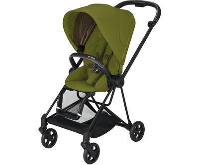Kočárek CYBEX Mios Matt Black Seat Pack 2021 včetně korby, khaki green - 2