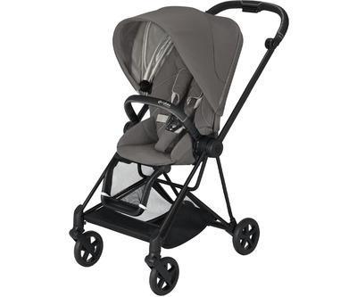 Kočárek CYBEX Mios Matt Black Seat Pack 2021 včetně korby, soho grey - 2