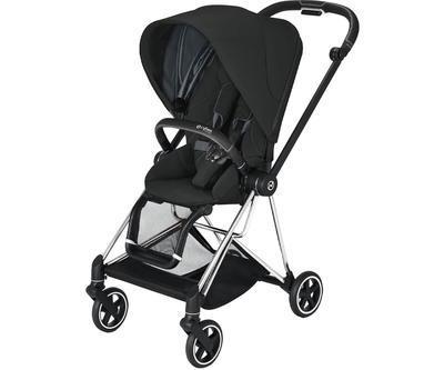 Kočárek CYBEX Mios Chrome Black Seat Pack 2021 včetně korby, deep black - 2