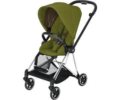 Kočárek CYBEX Mios Chrome Black Seat Pack 2021 včetně korby, khaki green - 2